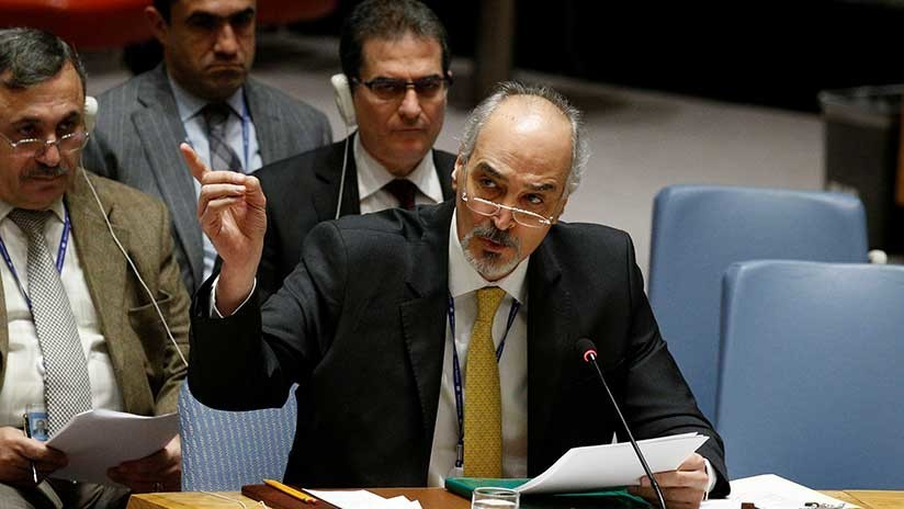 """Embajador sirio en la ONU: """"Terroristas están preparando un ataque químico a gran escala"""""""