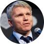 El ministro del Deporte de Rusia, Pável Kolobkov