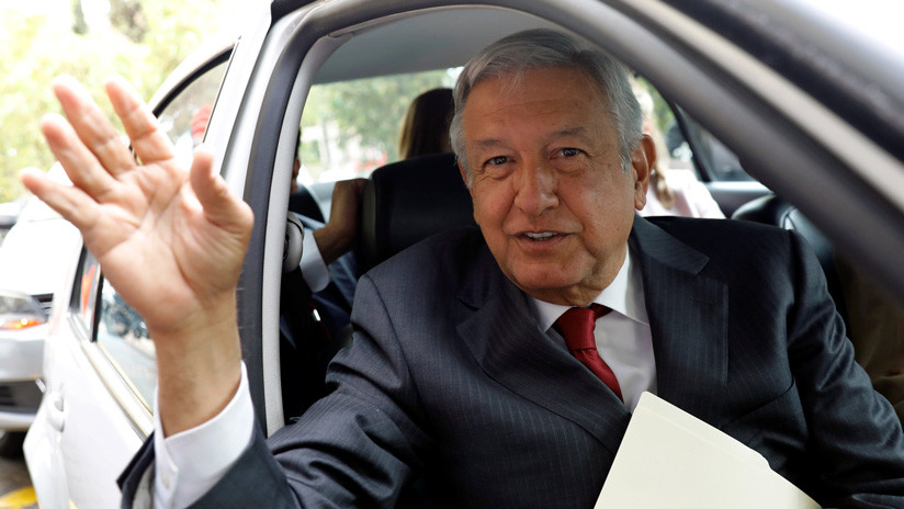 Andrés Manuel López Obrador, candidato a la Presidencia por MORENA.