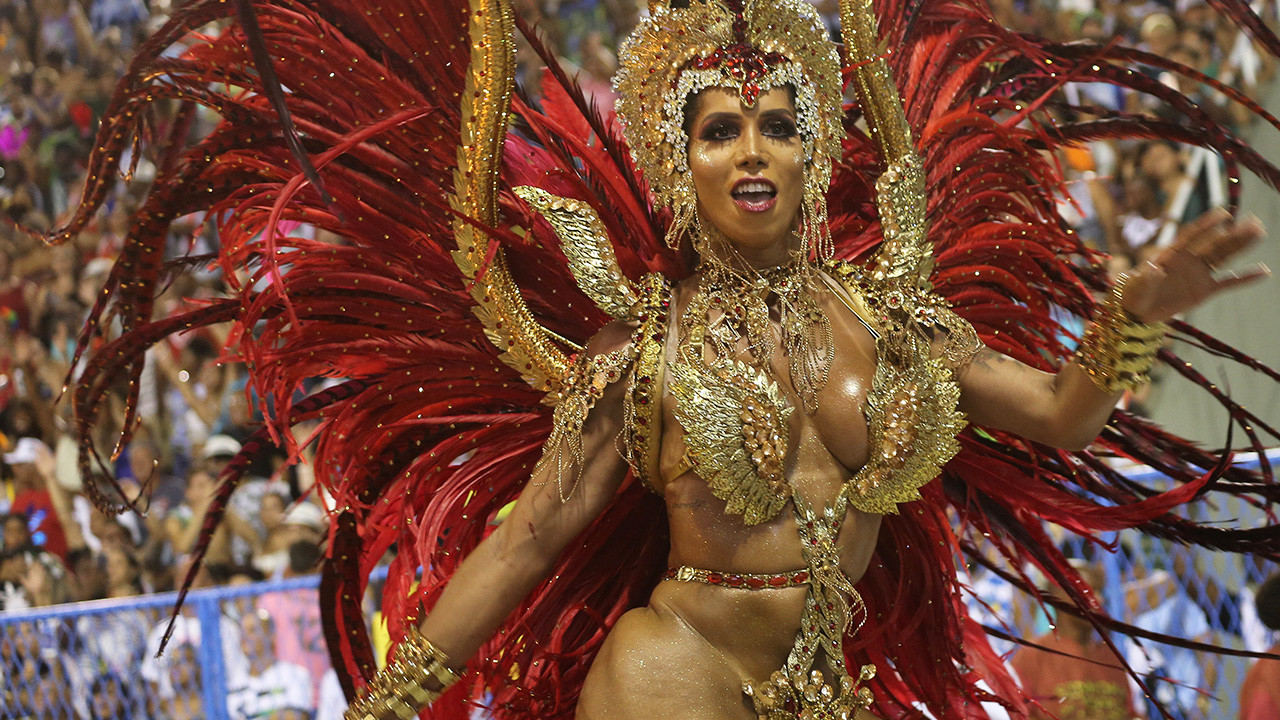 El carnaval de Río de Janeiro hace vibrar a Brasil