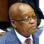 Jacob Zuma, presidente de Sudáfrica del 2009 al 2018