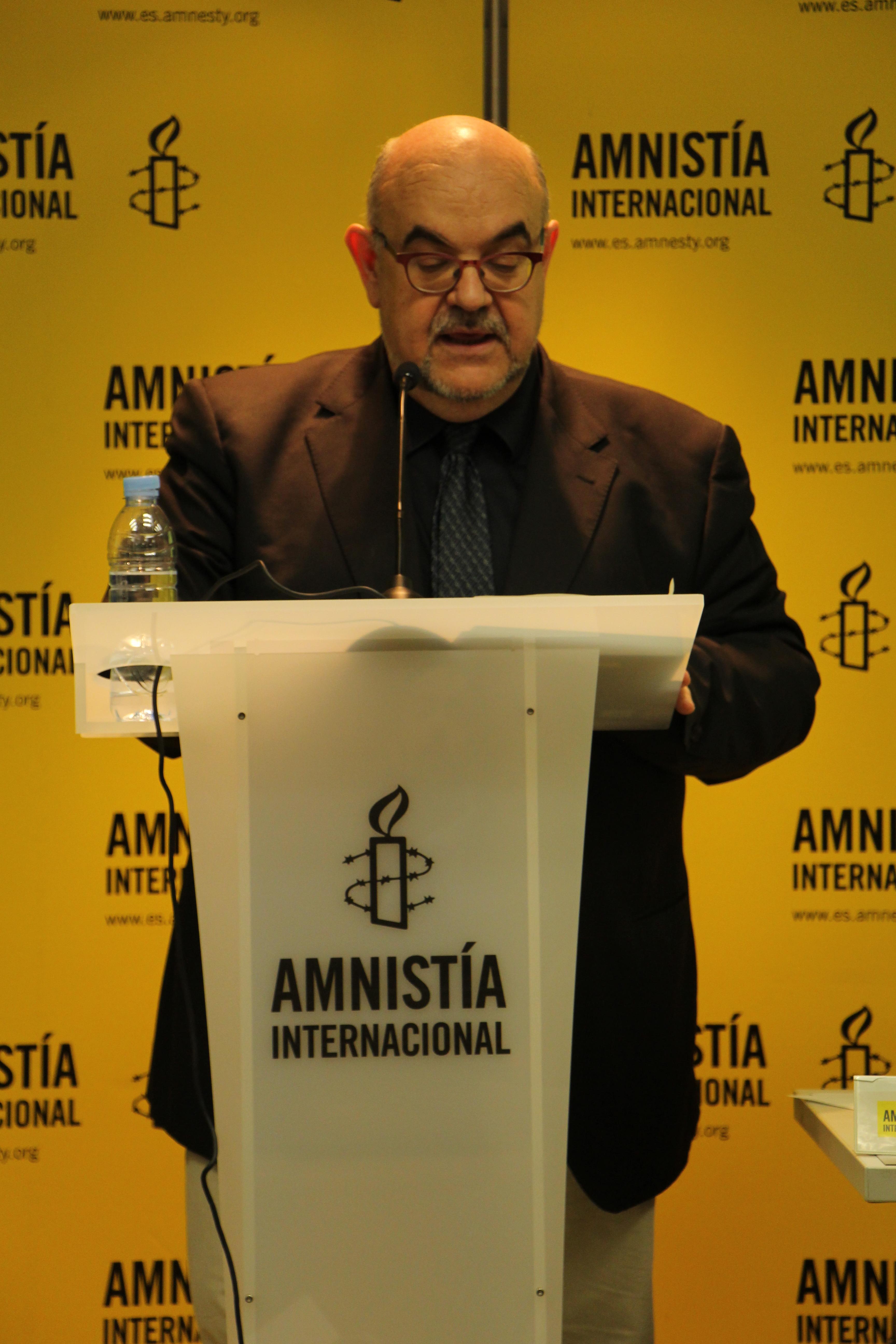 Esteban Beltrán, director de la sección española de Amnistía Internacional