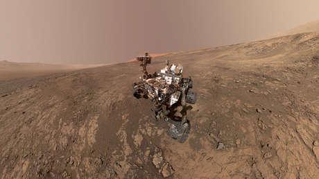 Un autorretrato del vehículo Curiosity en Vera Rubin Ridge, en Marte, en una imagen tomada el 23 de enero de 2018 y divulgada el 31 de enero.