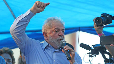 Luiz Inácio Lula da Silva, exprsidente de Brasil, 23 de enero de 2018.