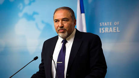 El minsitro Avigdor Lieberman