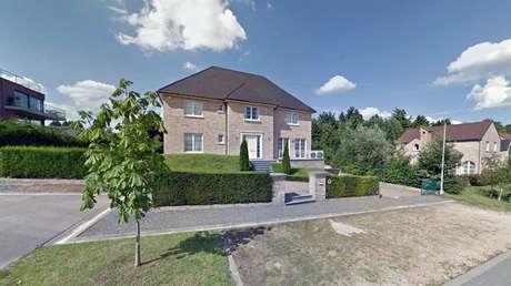 Imagen de la nueva residencia de Carles Puigdemont en Waterloo, Bruselas.