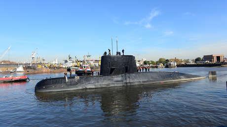 El submarino desaparecido ARA San Juan.