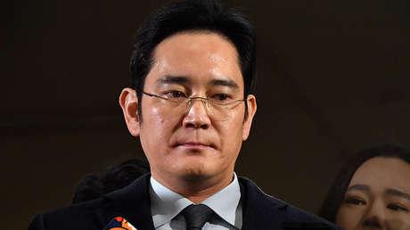 El vicepresidente de Samsung, el multimillonario Lee Jae-yong, el 13 de febrero de 2017.
