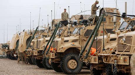Soldados estadounidenses en una base militar en Karamless, Irak, 25 de diciembre de 2016.