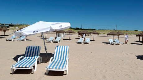 Playa de Punta del Este, Uruguay, el 4 de febrero de 2013.