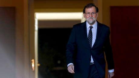 Mariano Rajoy, presidente de España, 6 de febrero de 2018.