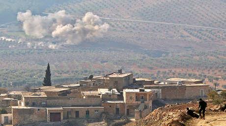 Siria, el 5 de febrero de 2018.