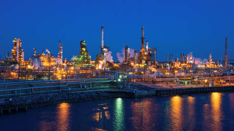 Refinería de petróleo en Filadelfia, Pensilvania (EE.UU.), 26 de marzo de 2014.