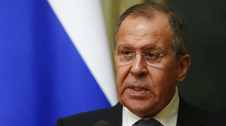 El ministro ruso de Exteriores, Serguéi Lavrov.