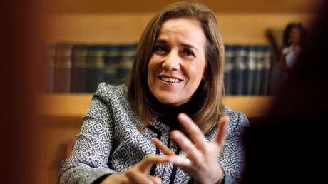 Margarita Zavala, aspirante a candidata independiente por la Presidencia de México.
