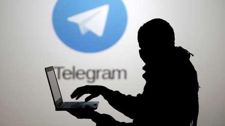 Un pirata informático y el servicio de Telegram