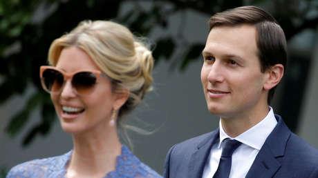 Ivanka Trump y su esposo, Jared Kushner.