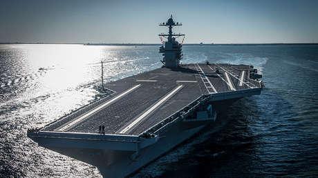 El 'superportaviones' USS Gerald R. Ford (CVN 78).