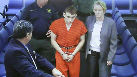 Nikolas Cruz, el sospechoso tirador en una escuela de Parkland (Florida, EE.UU.).