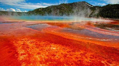 Parque Nacional de Yellowstone, EE.UU., el 22 de junio de 2011.