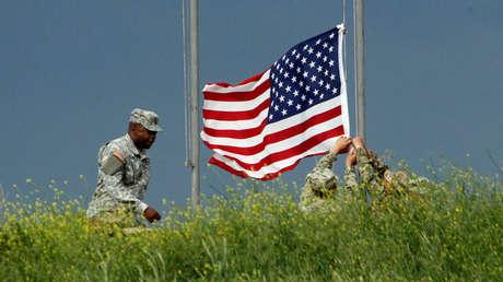 Soldado de los EE. UU., en Vaziani, Georgia, el 24 de mayo de 2016.