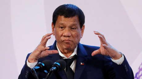 El presidente de Filipinas, Rodrigo Duterte, durante una rueda de prensa en Manila, Filipinas, el 14 de noviembre de 2017.