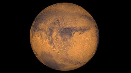 Imagen del planeta Marte.