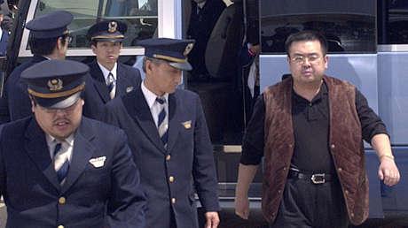 El hermano del líder norcoreano Kim Jong-nam en 2001.