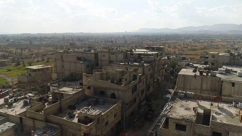 Siria recupera terreno en Ghouta Oriental bajo control rebelde