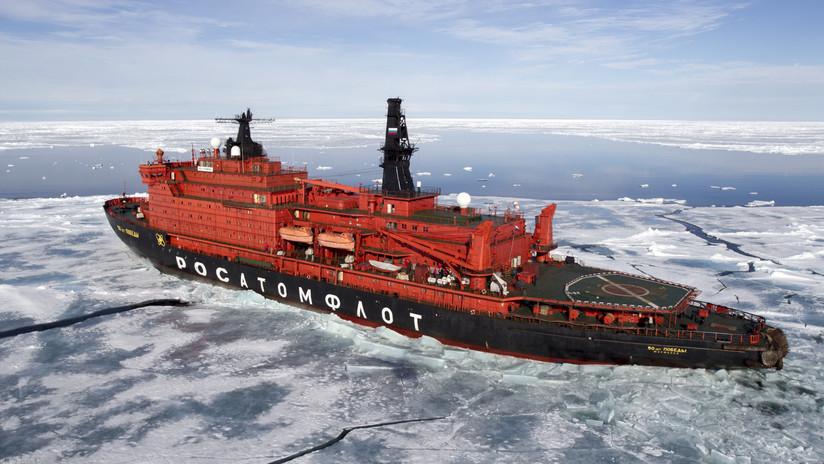 """Putin: """"La Flota Ártica de Rusia ha sido y será la más fuerte del mundo"""""""