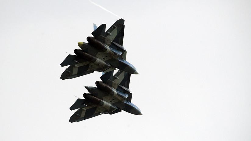 Rusia prueba con éxito durante dos días en Siria sus cazas de quinta generación Su-57