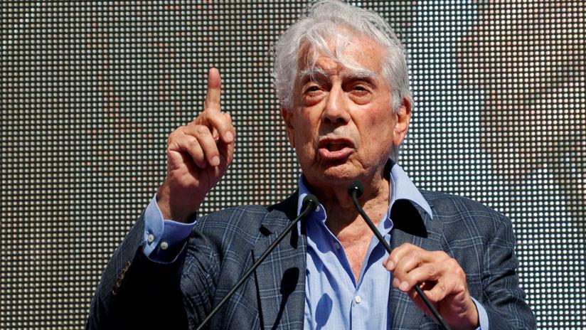 """Vargas Llosa: Si gana López Obrador, México será """"una democracia populista y demagógica"""" (VIDEOS)"""