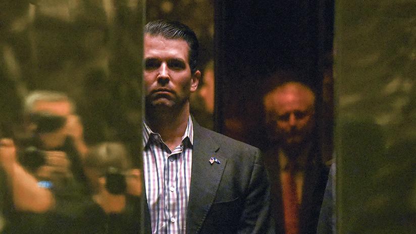 Revelan quién envió la carta con un polvo blanco al hijo mayor de Trump