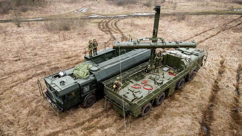 VIDEO: Así destruyen 'instalaciones enemigas' los misiles tácticos rusos Iskander-M