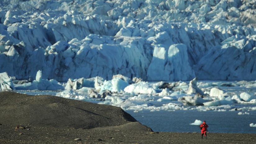 FOTO: Escolares rusos descubren una nueva isla en una región estratégica del Ártico