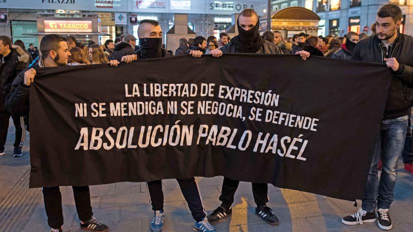 Rapero fue condenado por twittear en contra del régimen en España