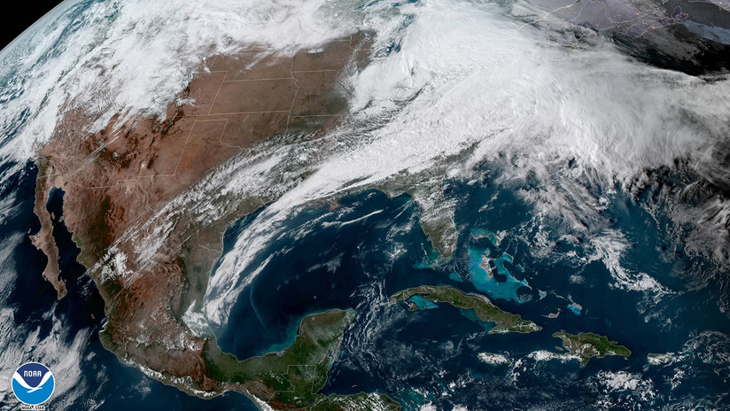 Una 'bomba ciclónica' ameneza con provocar el caos en la costa noreste de EE.UU.