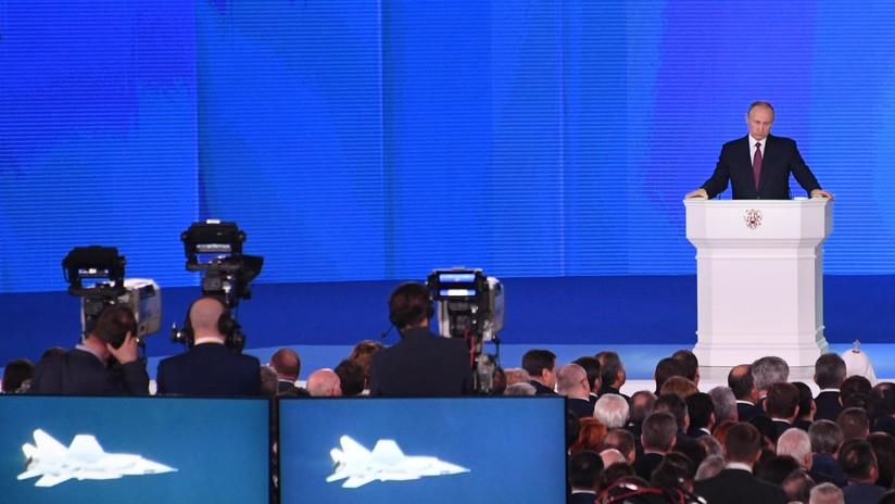 """Putin: """"Otros países aún no han logrado crear armas de alta tecnología como las de Rusia"""""""