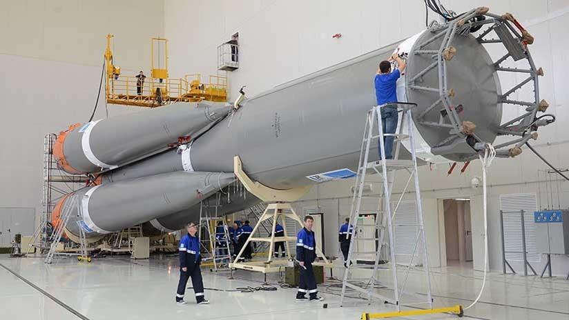Rusia acelera el desarrollo de su nuevo cohete pesado Angará