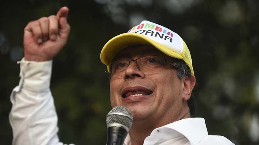 Atacan la caravana del candidato presidencial de izquierda en Colombia