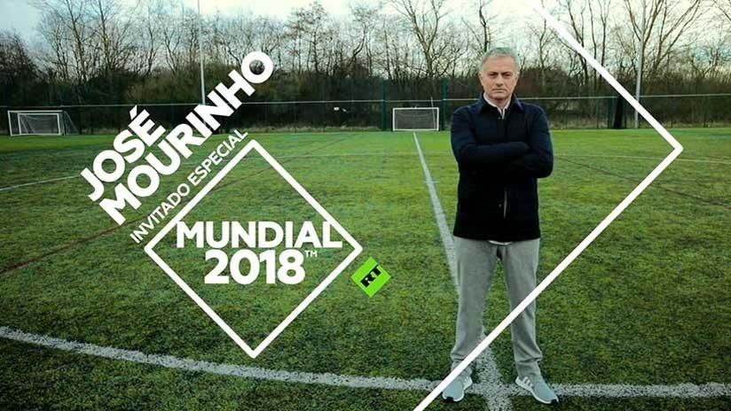 El legendario entrenador José Mourinho se une a la cobertura de RT de la Copa Mundial 2018