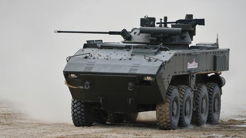 VIDEO: Rusia construirá un novedoso tanque sobre ruedas