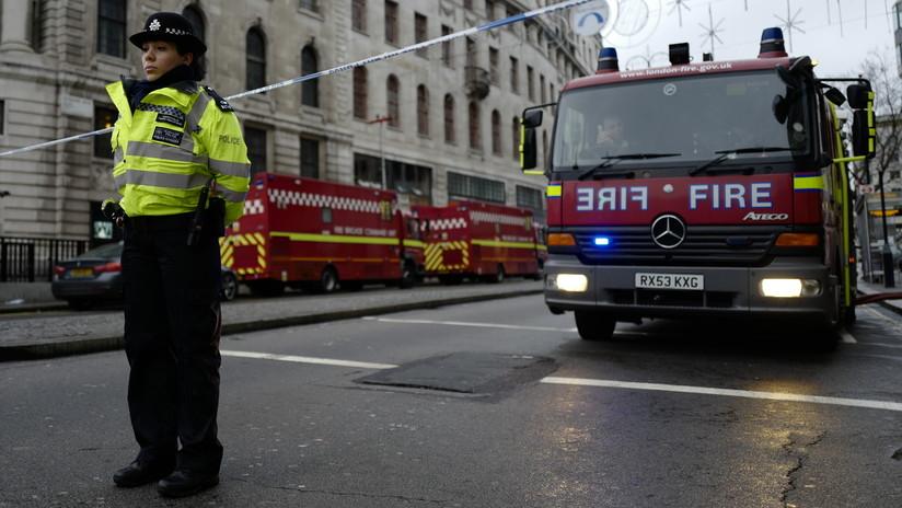 La Policía británica informa sobre una explosión en Londres
