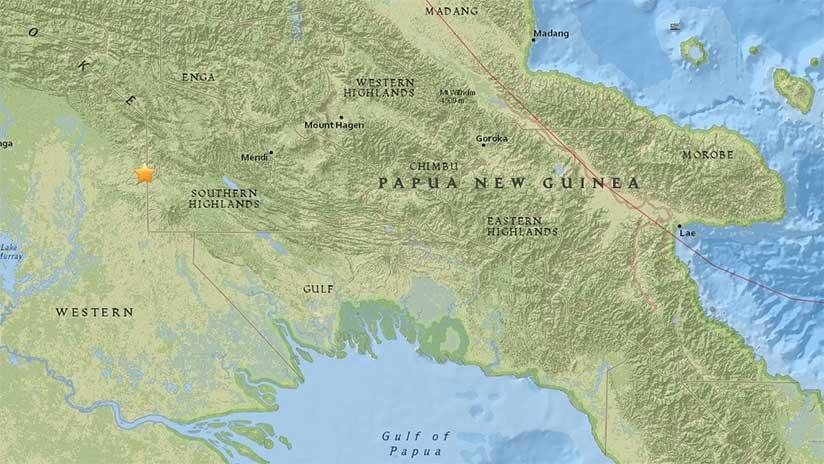 Un fuerte sismo de magnitud 6,0 vuelve a sacudir Papúa Nueva Guinea