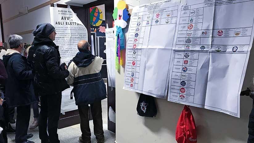 Elecciones en Italia: El Partido Demócrata cede terreno a los euroescépticos