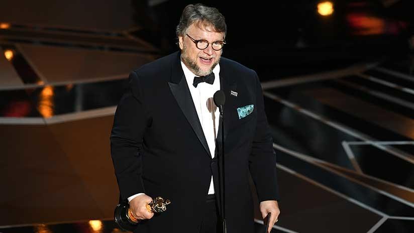 Guillermo del Toro recibe el Óscar a mejor director por 'La forma de agua'