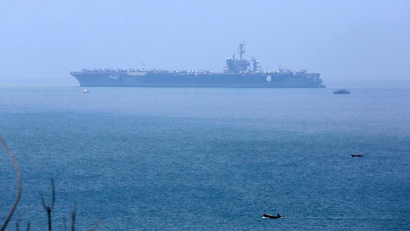 EE.UU. envía un portaaviones a Vietnam, mientras crece la presencia militar china en la región