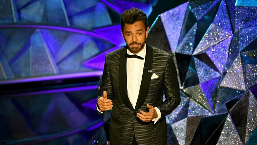 Fallida broma del actor mexicano Eugenio Derbez sobre el muro fronterizo en la gala de los Óscar