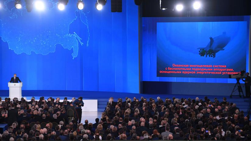 """Putin: """"El desarrollo del nuevo armamento ruso se realizó durante muchos años"""""""