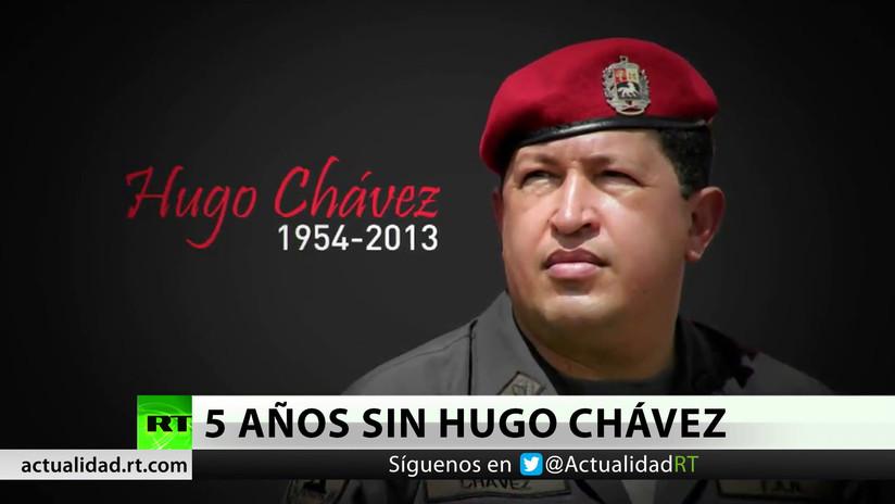 Recuerdan a Hugo Chávez en el 5º año de su muerte